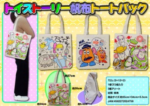 [2019NewItem] Toy Story Canvas Tote Bag