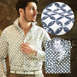 Leaf Casual Linen Shirt