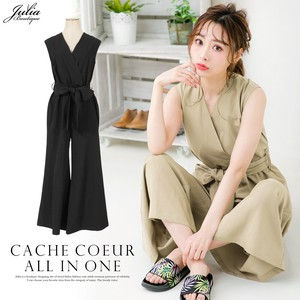 One-piece Dress Flare Pants All-in-one Pants Band