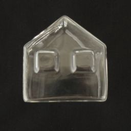 Glass Vase Small House