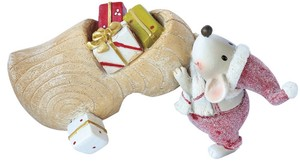 Mouse With Wooden Shoes M