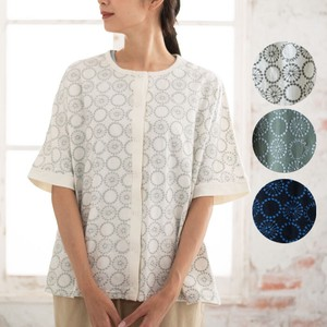 S/S Lace Embroidery Cotton Dolman Cardigan