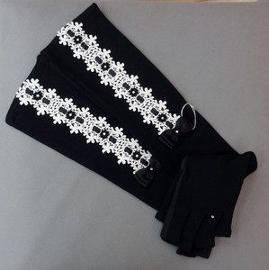 Glove Lace Ribbon Long Glove