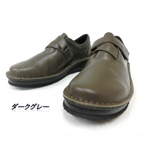 Cow Leather Closs Belt Shoes