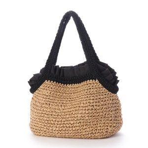 Mouth Frill Hand Knitting Tote Bag