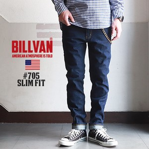 Slim Fit One Wash Stretch Denim Pants