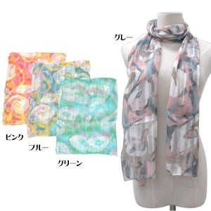 S/S Stole Rayon Silk Material S/S Stole Art
