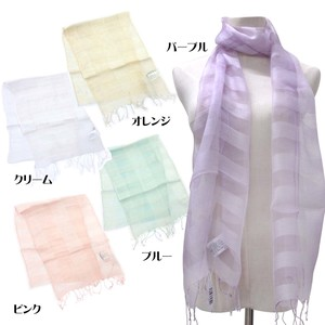 S/S Stole Rayon Silk Material S/S Stole Square Checkered