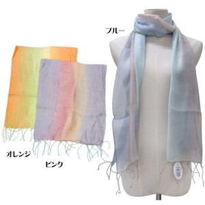 S/S Stole Rayon Silk Material S/S Stole lame