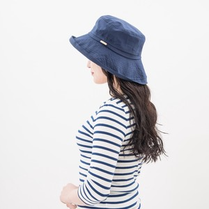 Cotton Broad-brimmed Hat