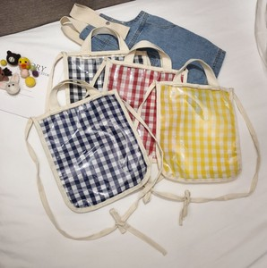 Korea Checkered Kids Diagonally Handbag