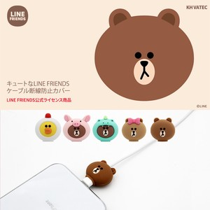 ケーブル保護カバー LINE FRIENDS 8PIN CABLE PROTECTOR