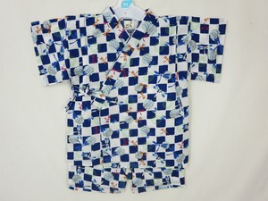 Ripple Dragonfly Grid Pattern Jinbei Suits