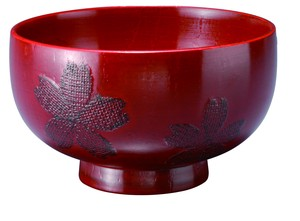 Wealthy Sakura Sakura Soup Bowl