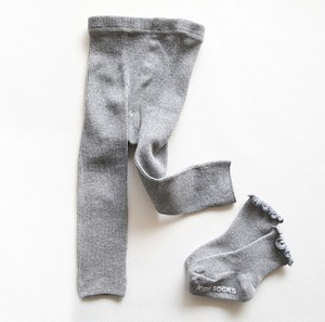 Kids Leggings Socks Frill Socks