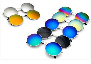 Sunglass Mirror Sunglass UV Cut Men's Ladies Uv Prevention