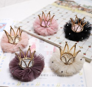 Kids Hairpin Hair Accessory Party Crown Tiara Princes