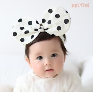 Kids Accessory Kids Headband Hair Band Girl Child Decoration Dot
