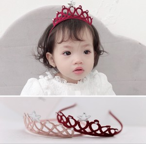 Kids Kids Crown Diamond Headband Birthday Decoration