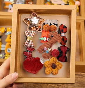 Korea Hair Accessory Gift Hairpin Set Kids Animal Decoration