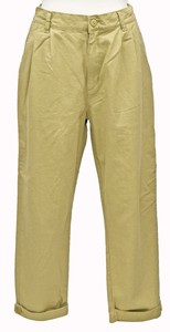 Belt Attached Tapered 9/10Length Pants