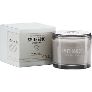new Smith&Co. Soy Wax Candle ソイワックスキャンドル TABAC & CEDARWOOD タバック&シダーウッド
