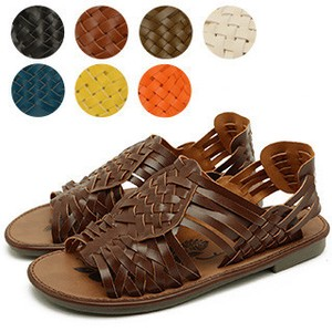 Flat Mesh Sandal Color