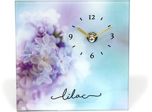 Desk Clock Flower