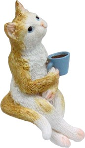 ANIMAL Cat with Coffee