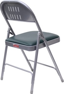 Folding Chair Silver Green