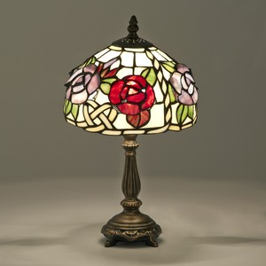 Sten Glass Lamp Solid Rose