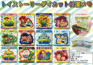 [2019NewItem] Sales Promotion Toy Story Die Cut Sticky Note Memo Pad