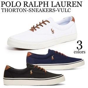 《即納》POLO RALPH LAUREN《2019春夏新作》■スニーカー■THORTON-SNEAKERS-VULC