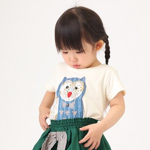 Owl Applique Short Sleeve T-shirt