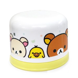 Rilakkuma Plastic Bottle Cup Set White