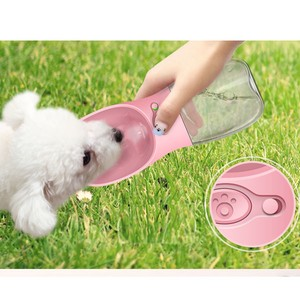 Pet Product Water Flask Bottle Pet Outdoor Good Walk Go Out Portable Cup To Drink