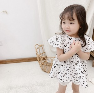 Children's Clothing Kids One-piece Dress Flare