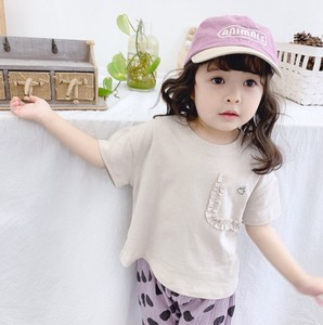 Korea Short Sleeve T-shirt Casual Kids