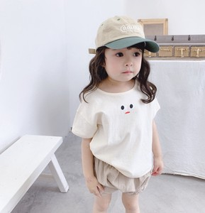 Korea Girl T-shirt Short Sleeve Casual Kids