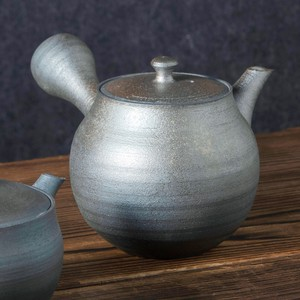 TOKONAME ware Roasting Round shape Japanese Tea Pot