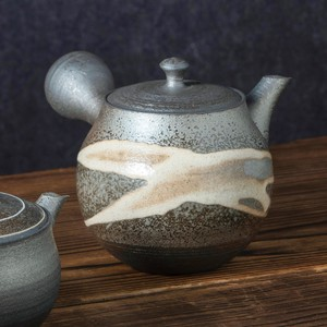 TOKONAME ware Large Circle Make Up Japanese Tea Pot