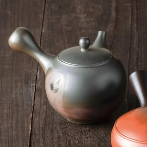 TOKONAME ware Round shape Kiln Change Japanese Tea Pot