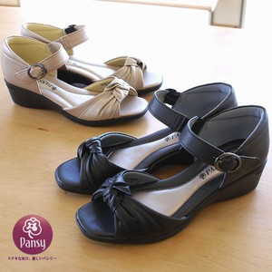 Pansy Sandal Ladies Open Toe Pumps Office Flat Neck Strap