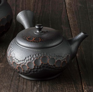 TOKONAME ware Hiramaru Cut Japanese Tea Pot
