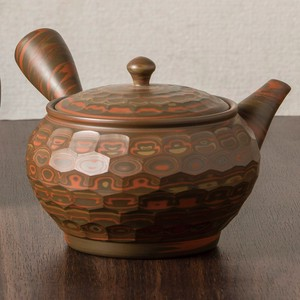 TOKONAME ware Bag Diamond Cut Japanese Tea Pot