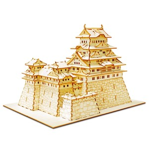 Wooden Puzzle Himeji