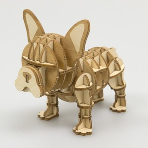 Wooden Puzzle French Bulldog Dog