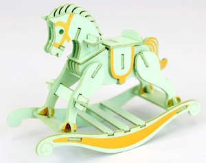 Made Of Paper Puzzle Rocking Horse