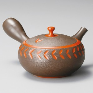 TOKONAME ware Cut Japanese Tea Pot