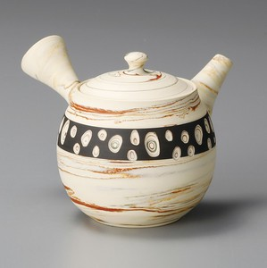 TOKONAME ware Dot Japanese Tea Pot
